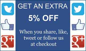 5% Off for Social Shares - Trade Show Displays